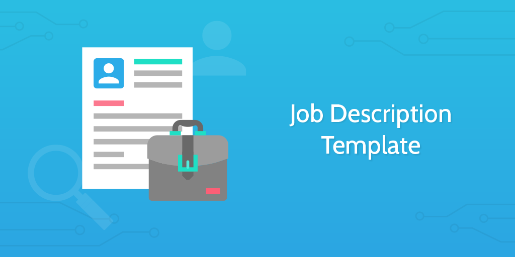 Job Description Template - introduction
