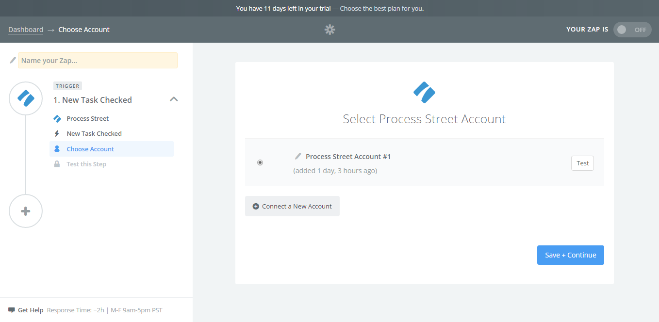 Choose Account  How To Generate An Invoice