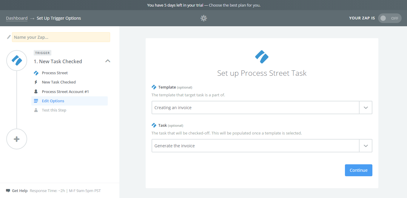 How To Create A Custom Invoice Generator Using Process Street - Invoice generator