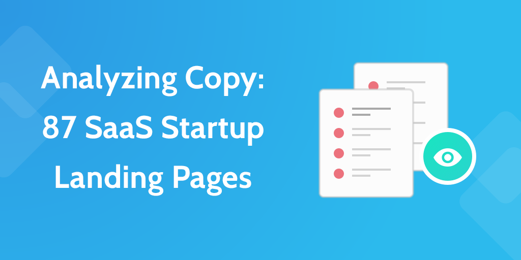 Startup Landing Pages Copy