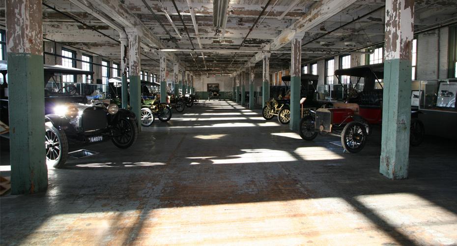 Piquette Avenue Plant Interior, Detroit