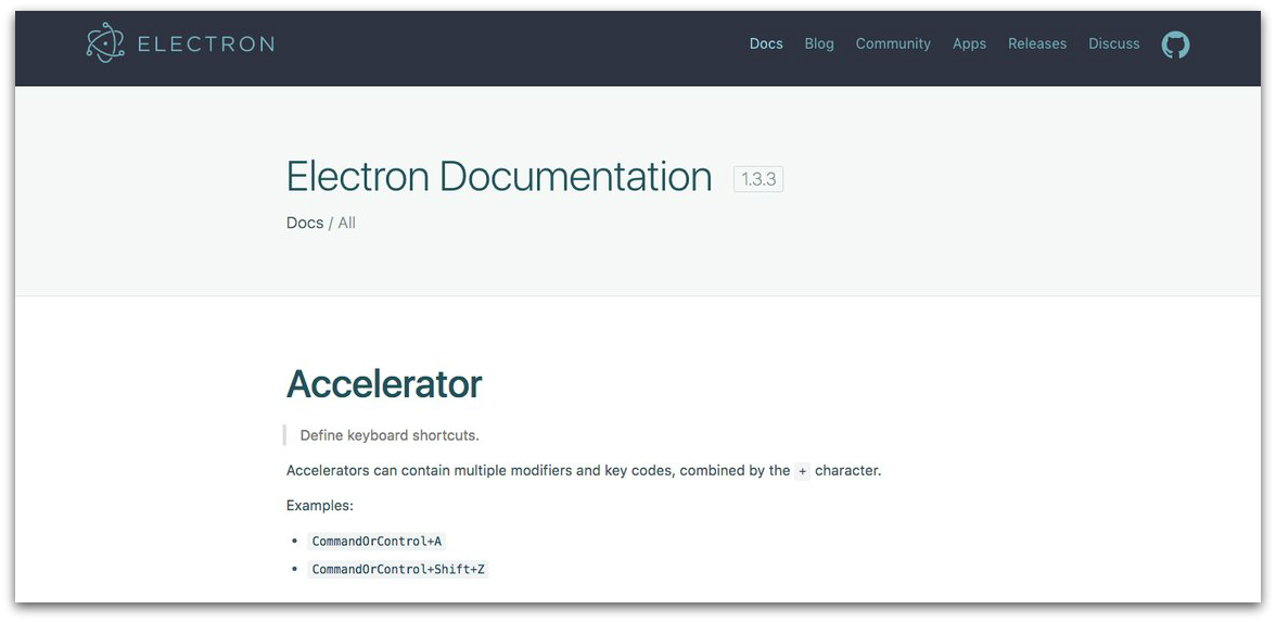 Electron Software Documentation-d