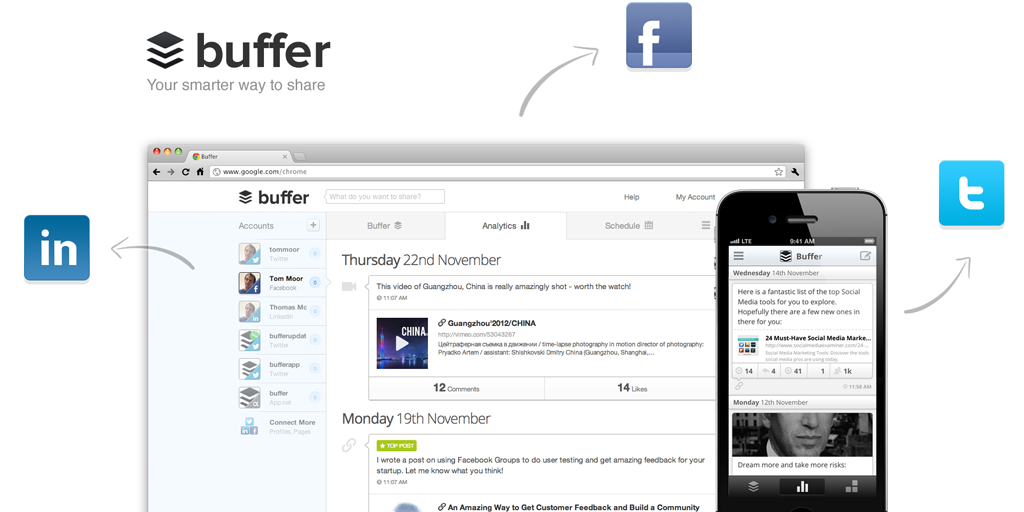 best productivity apps - buffer