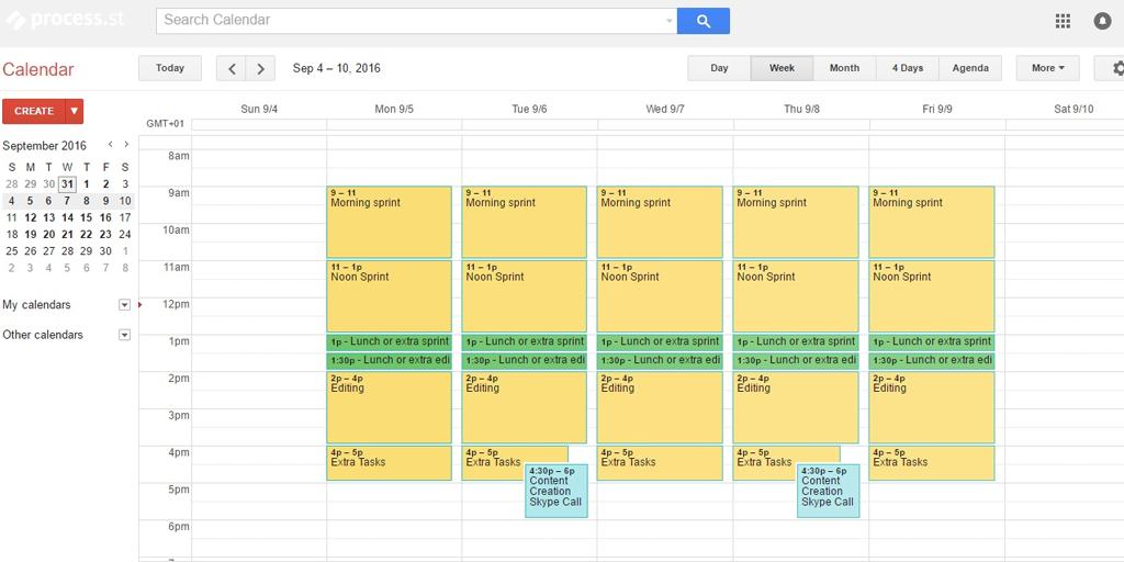 best productivity apps - google calendar
