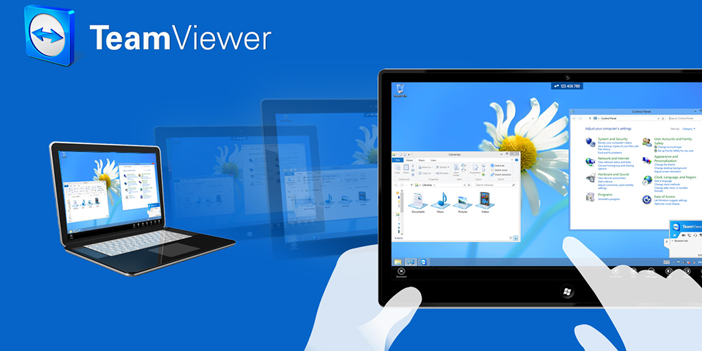 best productivity apps - teamviewer