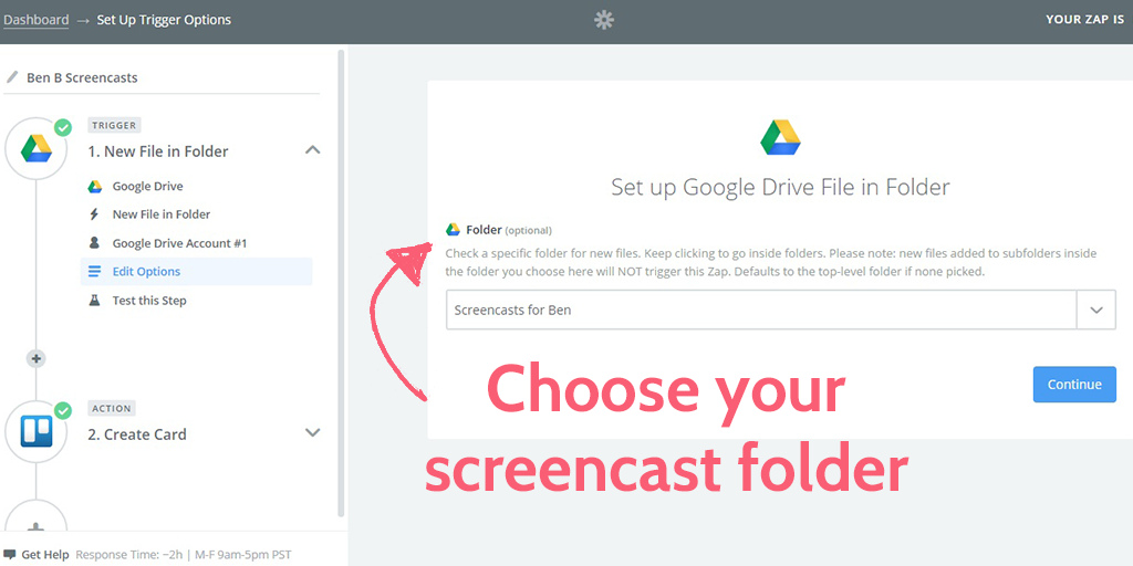 free screencasting apps - gdrive folder
