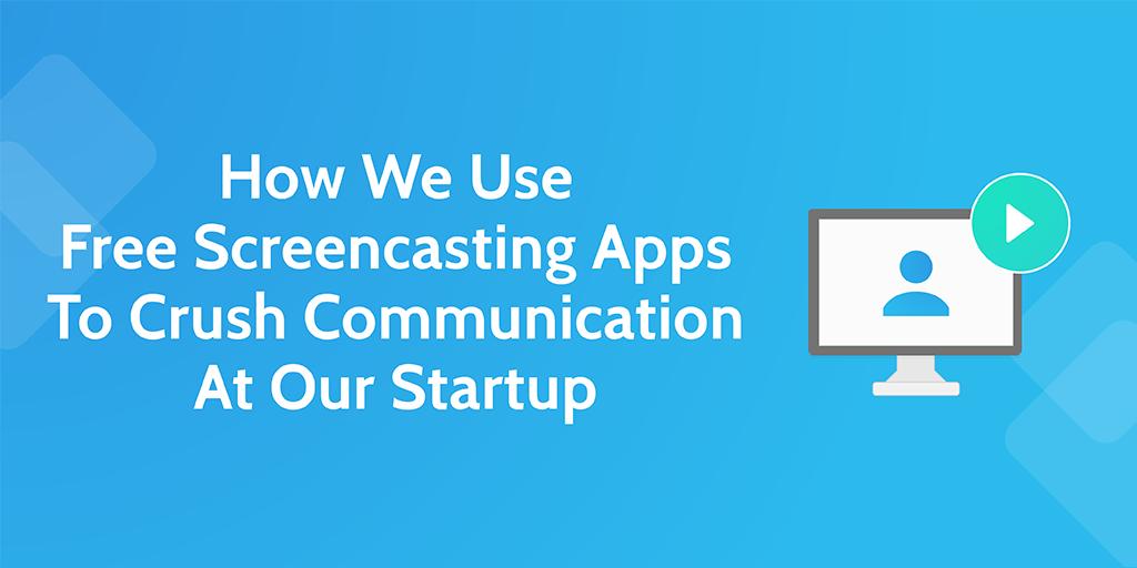 free screencasting apps - header