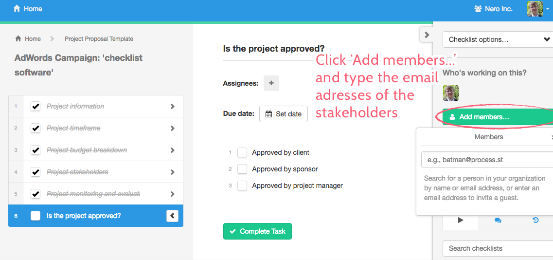 Adding Members Project Proposal