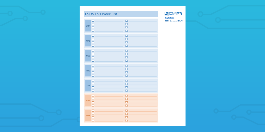 every to do list template you need the 21 best templates process