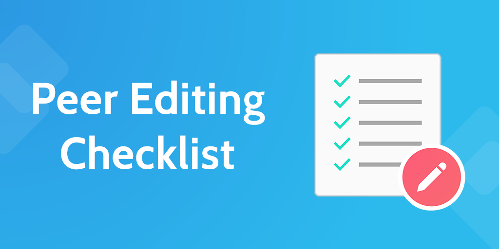 persuasive essay peer editing checklist Persuasive letter revising and editing checklist preview to help students revise and edit their own persuasive letters and to have a peer revise and edit it too.