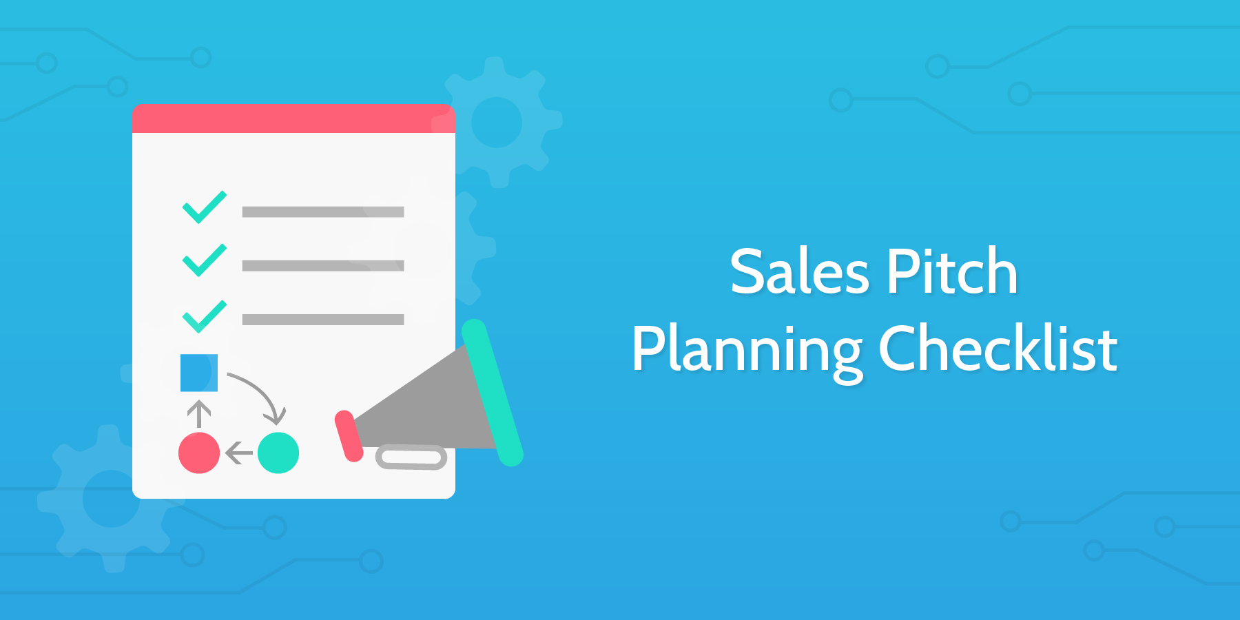 sales pitch planning checklist