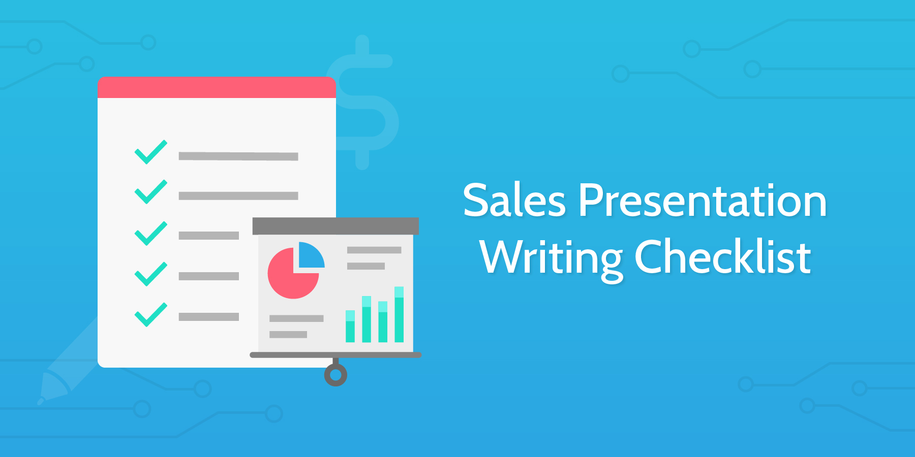 9 Checklists to Drive Your Sales Processes – Sales Presentation Template