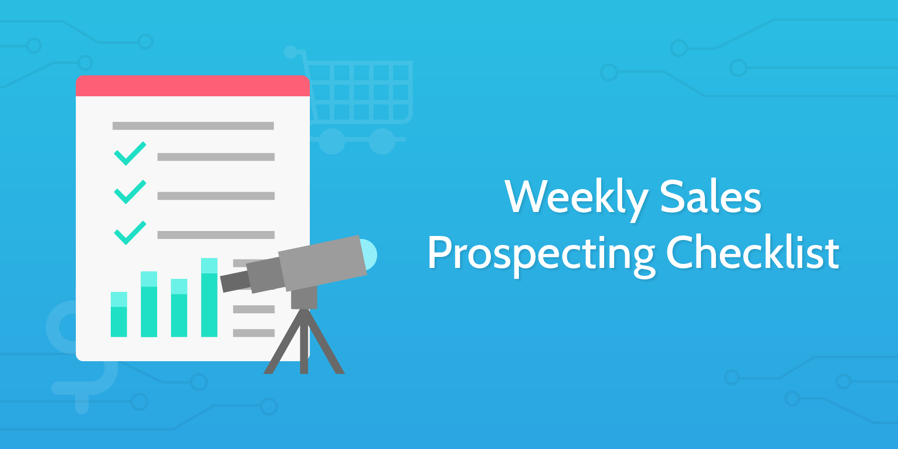 sales prospecting checklist