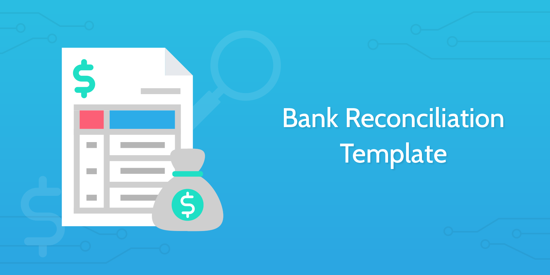 business bank reconciliation template