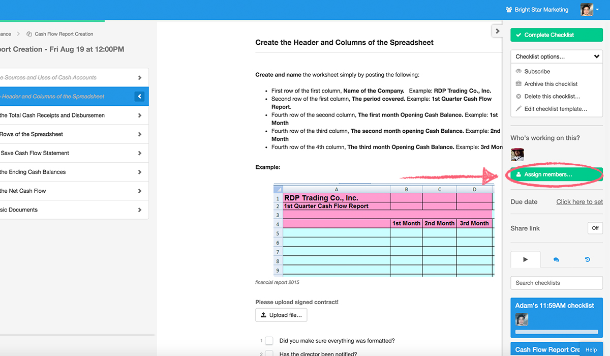 running-checklists-assign-members-button