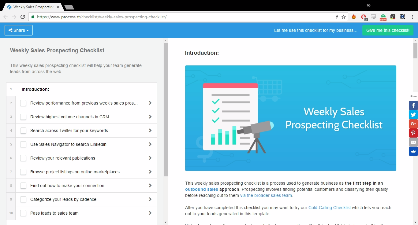 weekly-sales-prospecting-checklist-screenshot