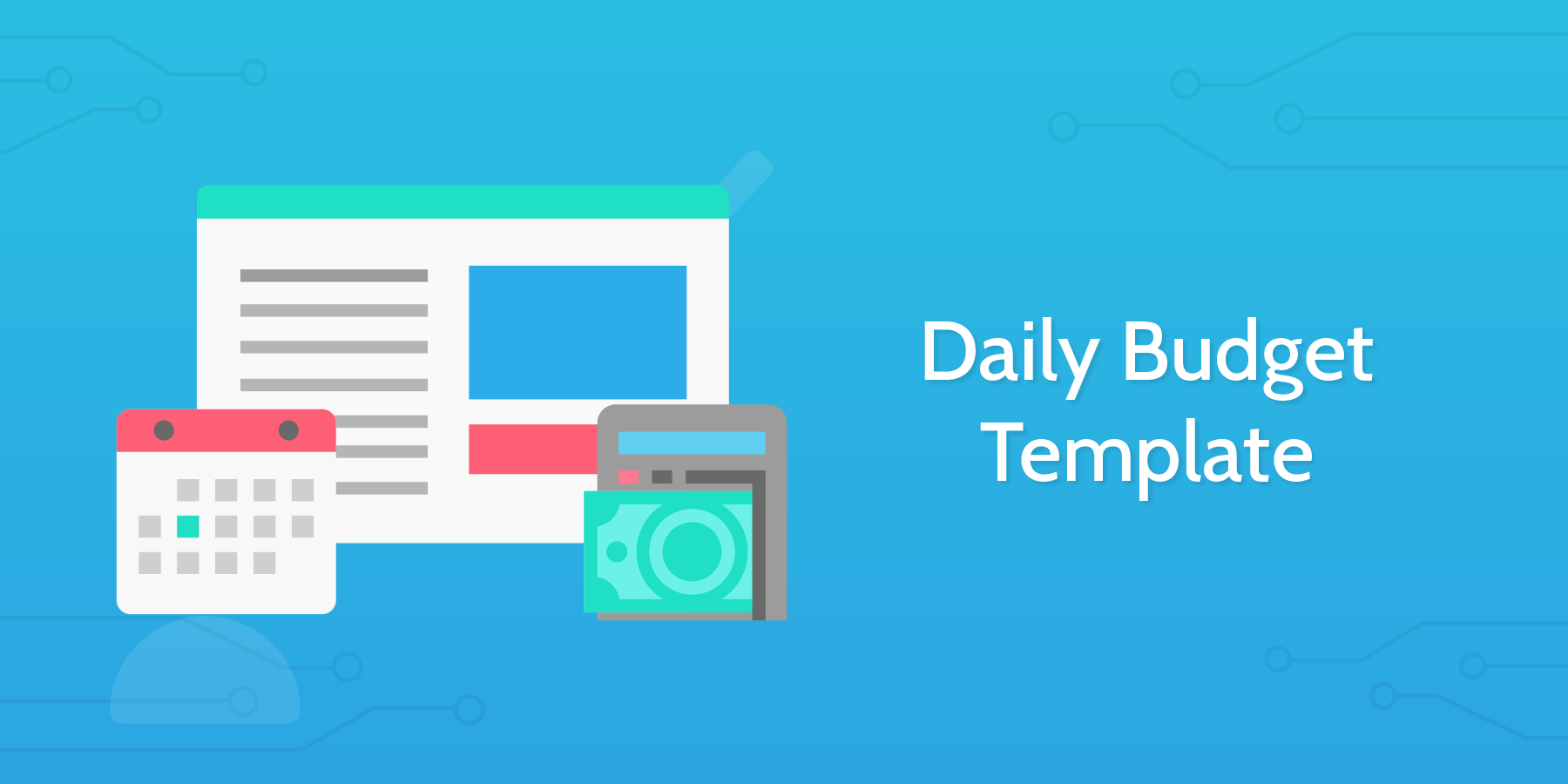 daily budget template process street