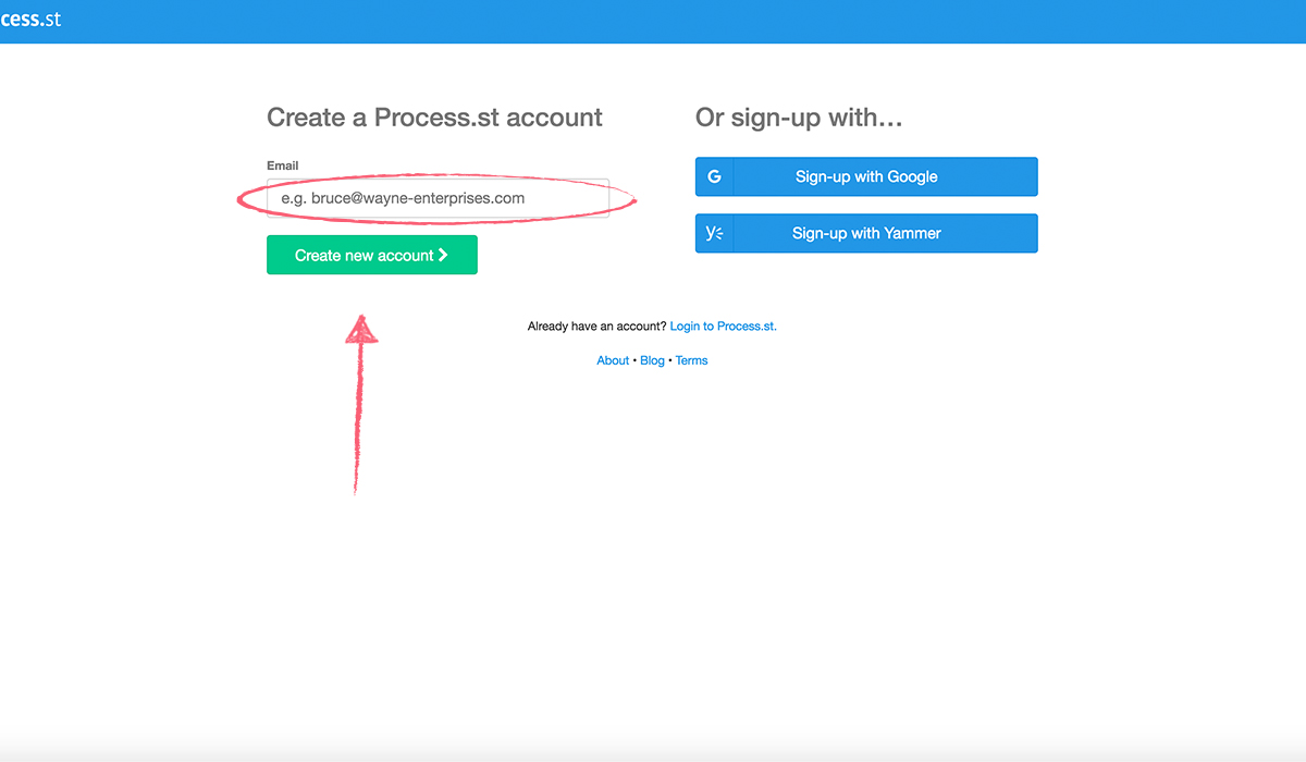 getting-started-signing-up-using-link