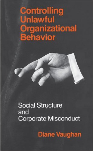 Controlling Unlawful Organizational Behaviour