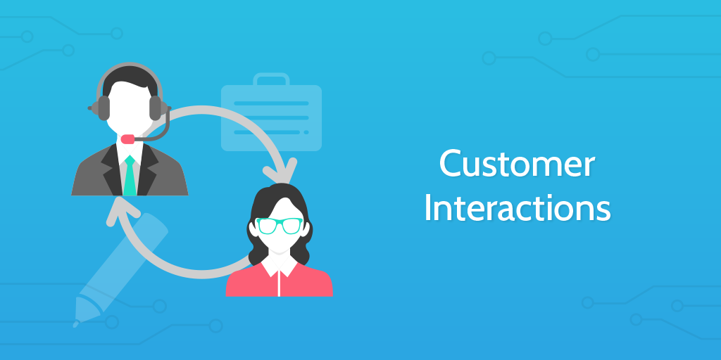 business process automation - customer interactions