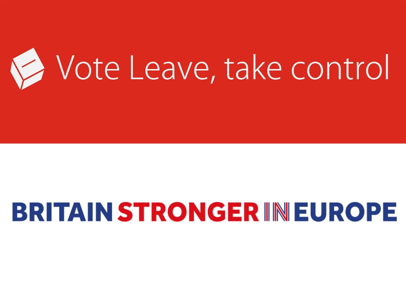 Official Brexit campaign slogans