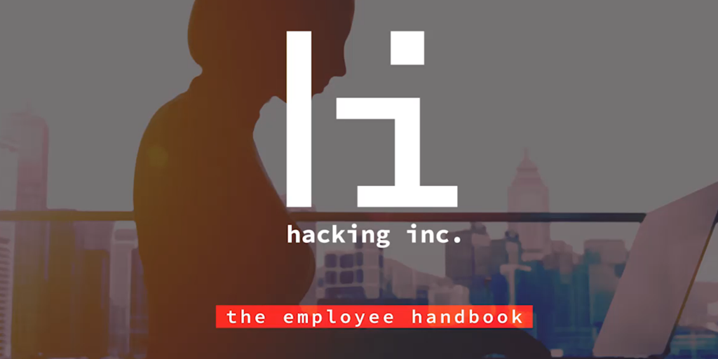 employee handbook - hacking inc