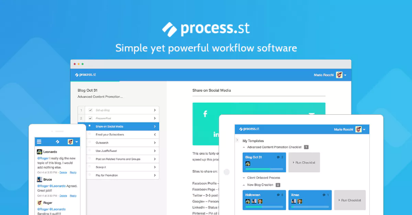 Process Street Workflows