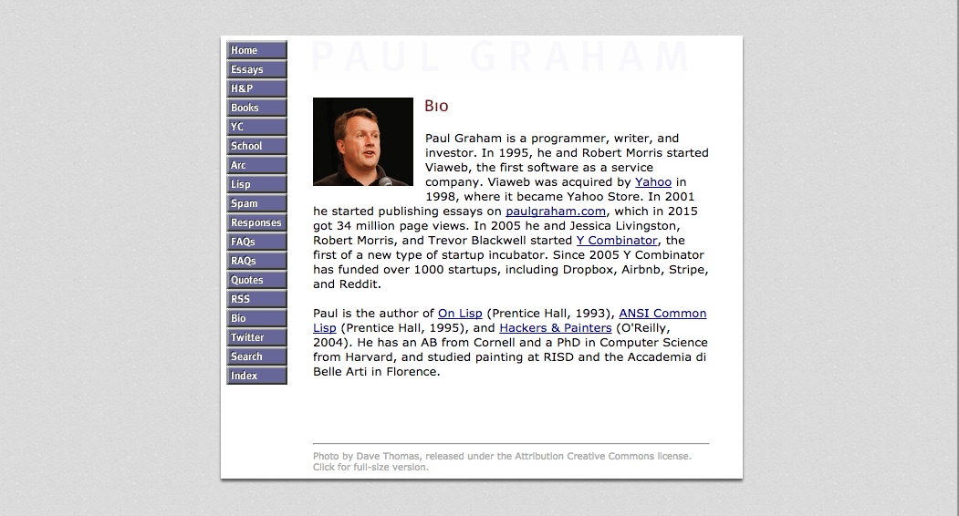 paul graham writing essay Paul graham essay translations - collection of 174 essays covering up to 13 languages (web app, startup books, and tech) read the opinion of 8 influencers discover 4 alternatives like paul graham essays search and how to start a startup - paul graham.