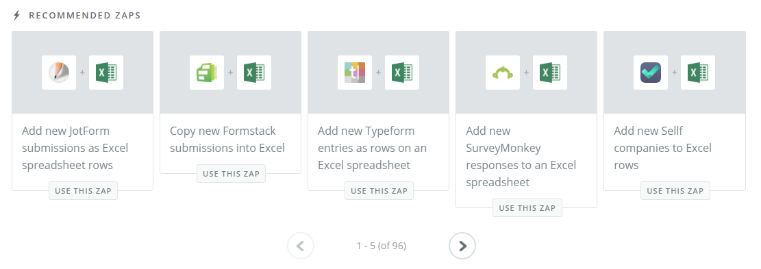 Zapier zaps excel tips and tricks Excel for dummies