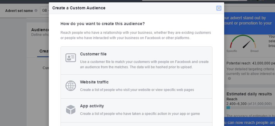create custom audience science of persuasion
