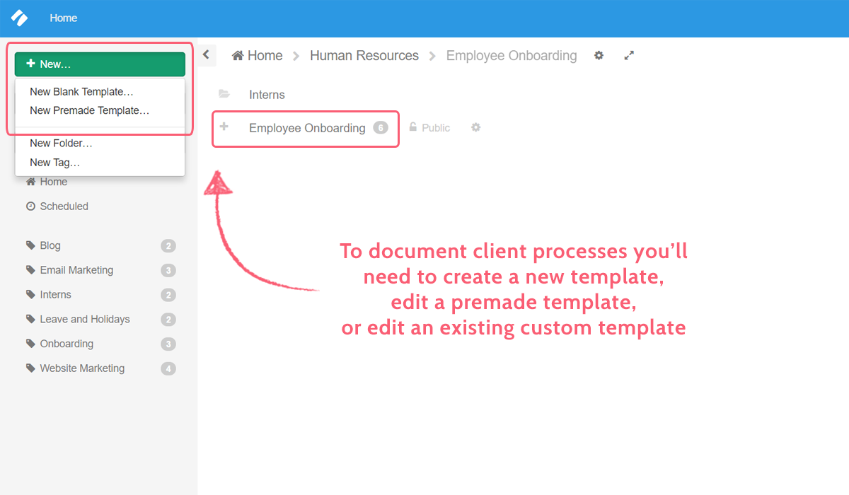 document client processes methods