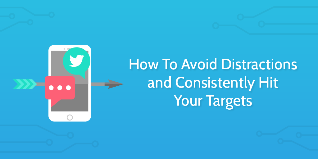 how to avoid distractions header