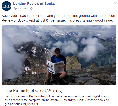 london review of books facebook retargeting