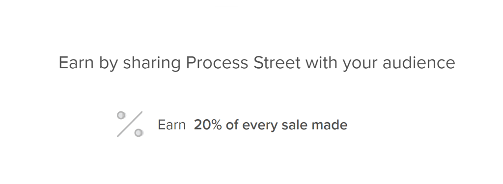monetize processes process street partner program amount earned