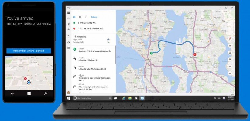 offline maps windows 10 tips