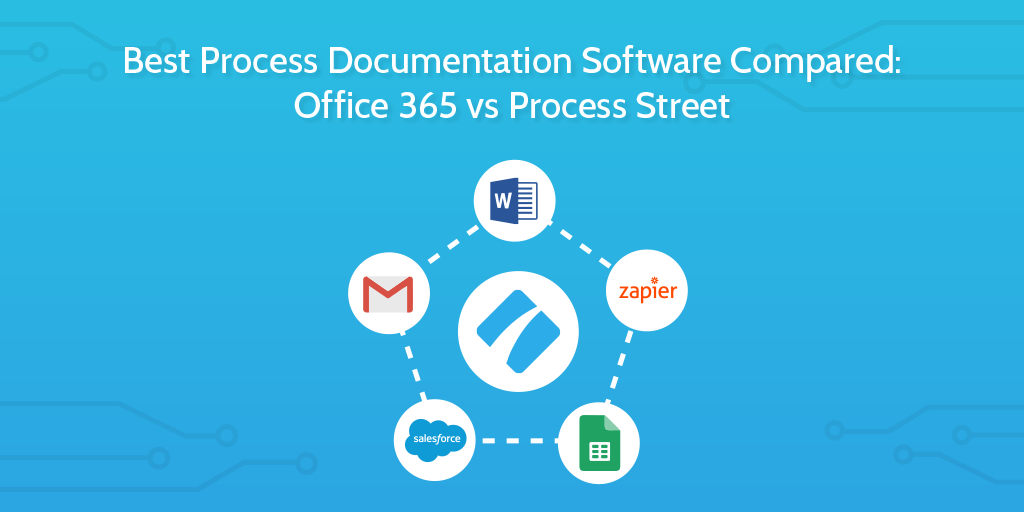 process documentation software header updated title