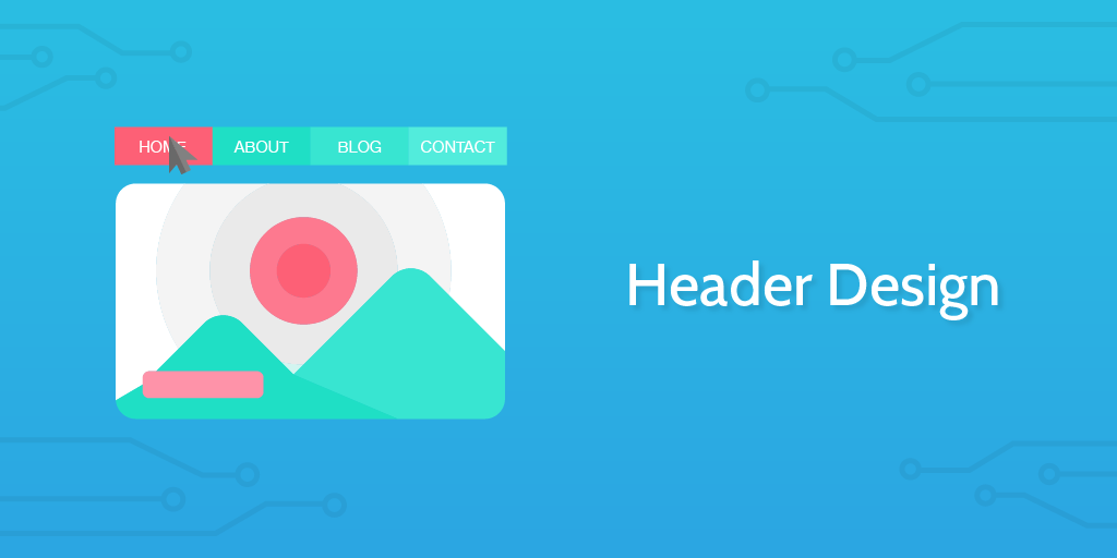 header design process template