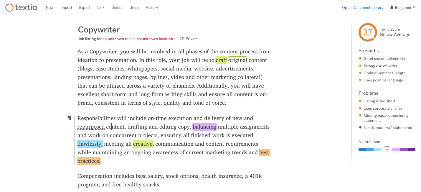How to Write a Brilliant Job Description (2 Templates & 12