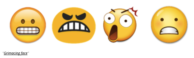 emoji differences