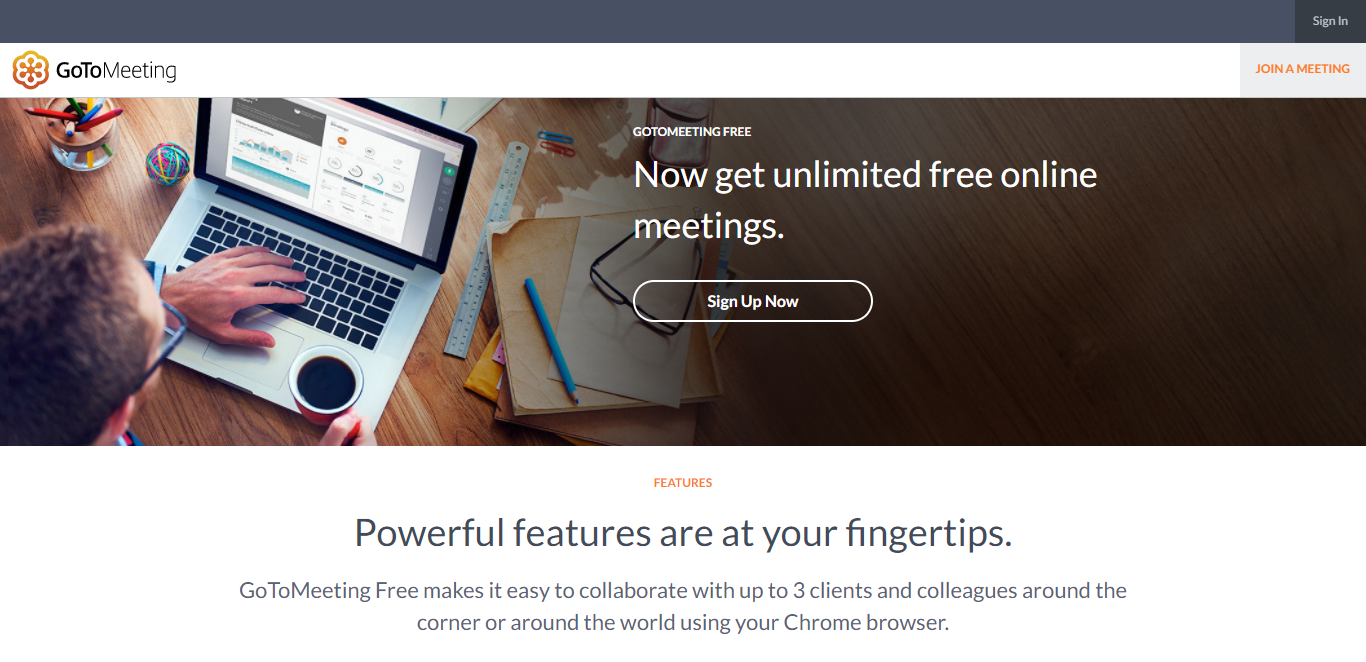 best video conferencing gotomeeting free version