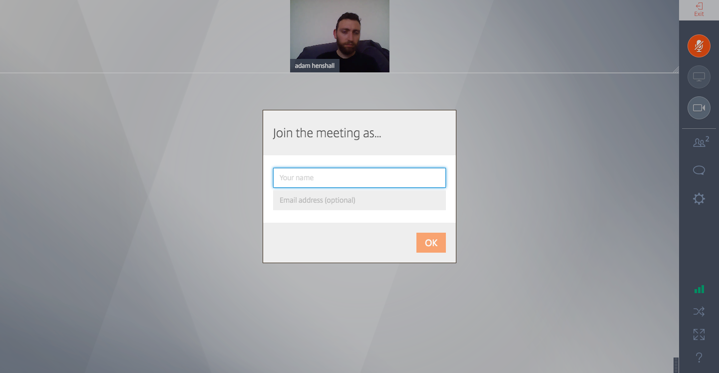 best video conferencing gotomeeting ui ux