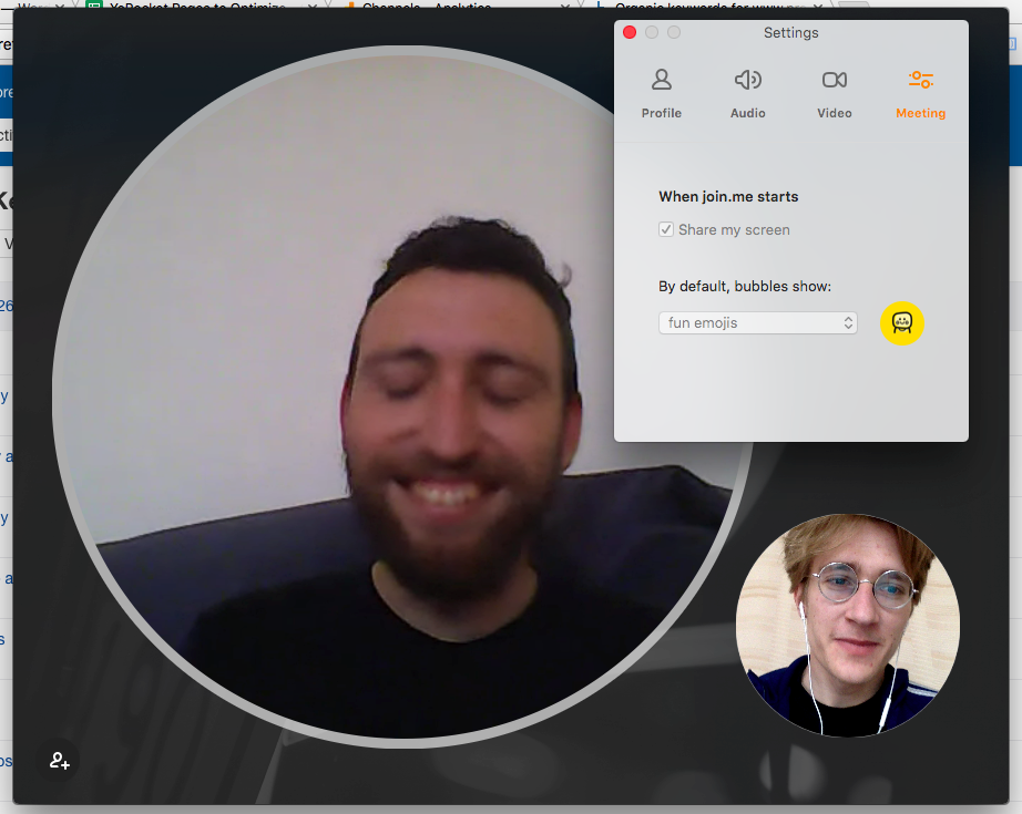 best video conferencing joinme disembodied head
