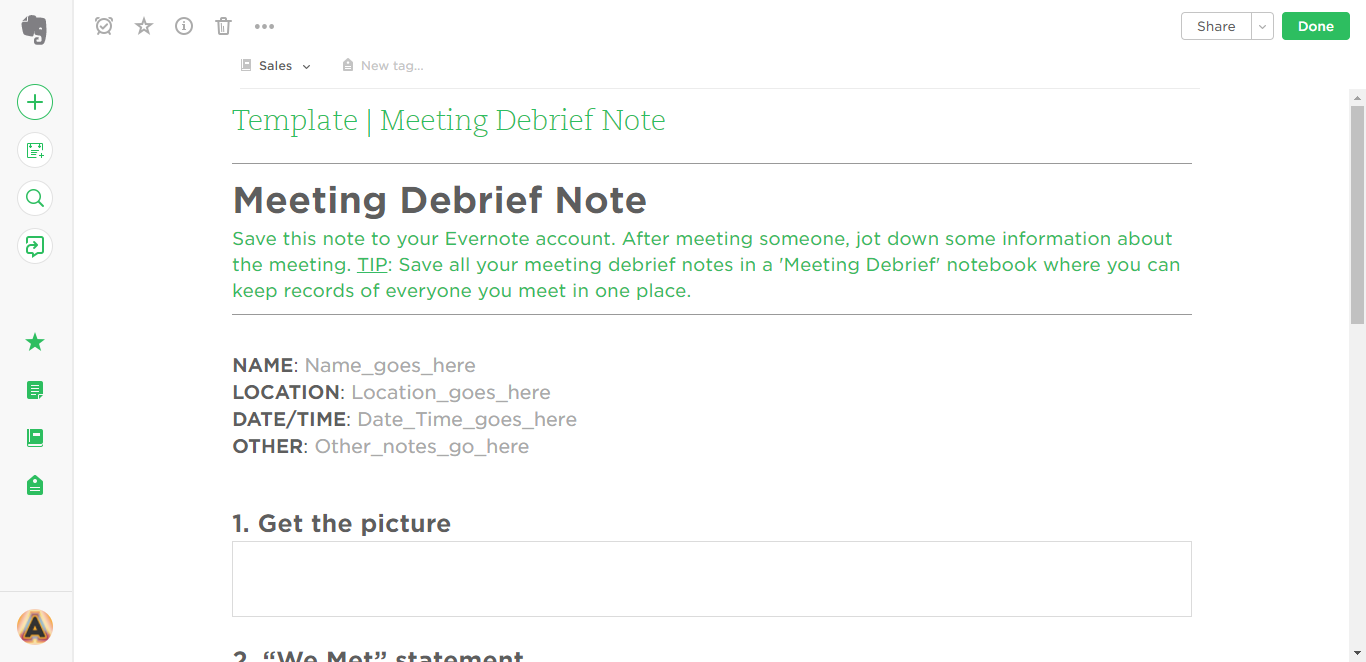 Evernote Templates Workflows To Skyrocket Productivity - Target employee name tag template