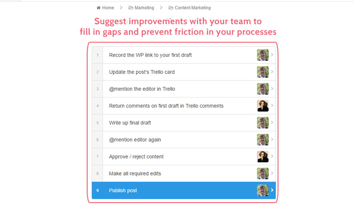 process improvement - improving process