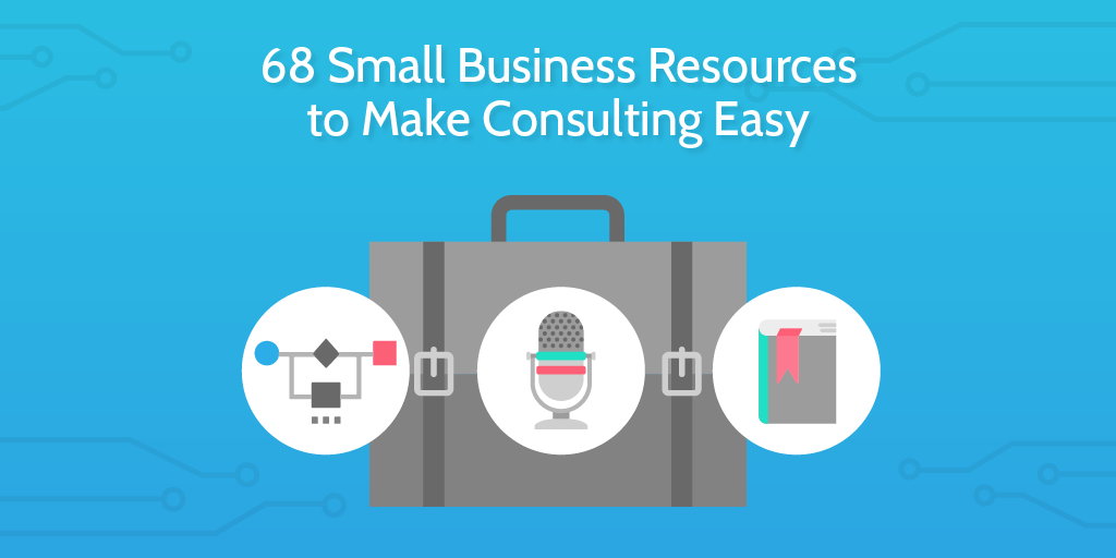 small business resources header briefcase
