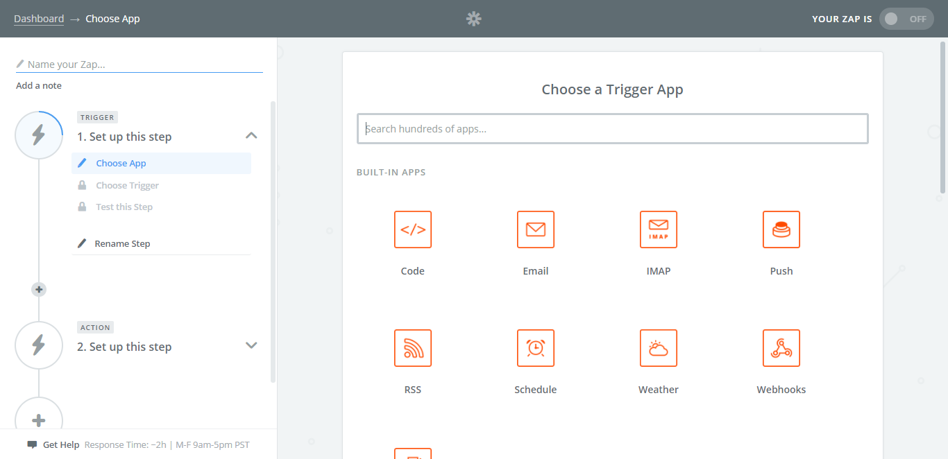 integrate process street with typeform first screen