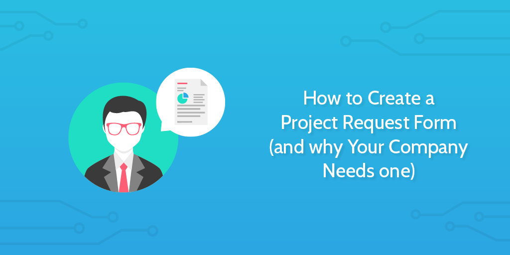 project request form - header