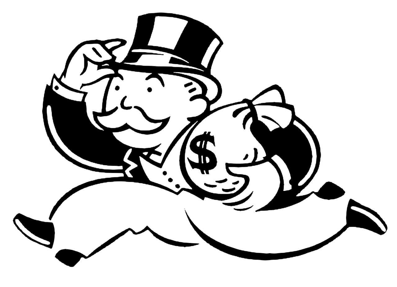 why are monopolies bad monopoly man