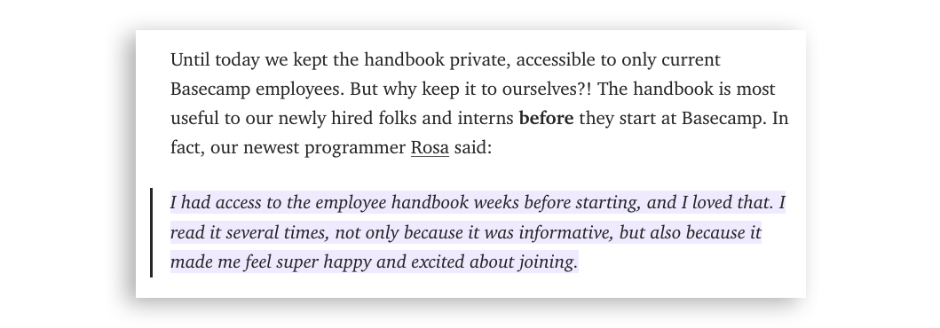 7 Insightful Company Policy Tips from Basecamp\'s Employee Handbook ...