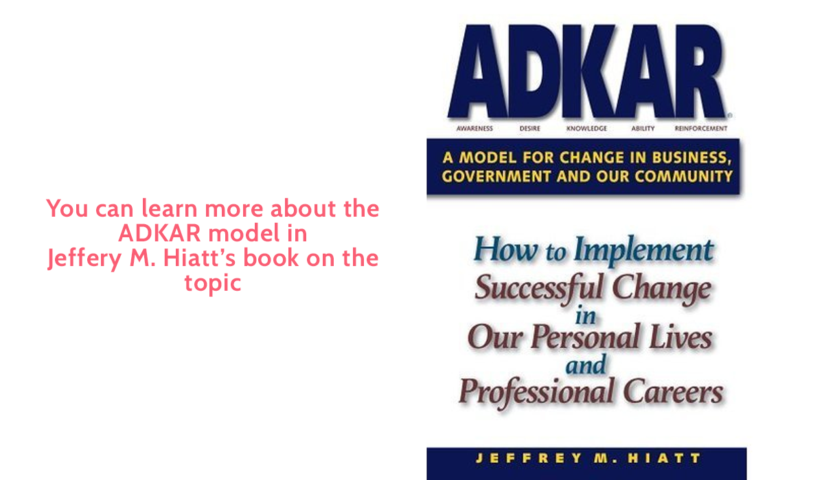 change management models - adkar book